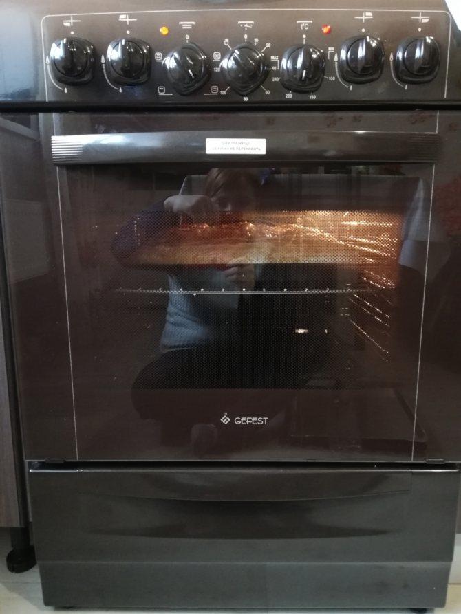 Как включить духовку на газовой плите