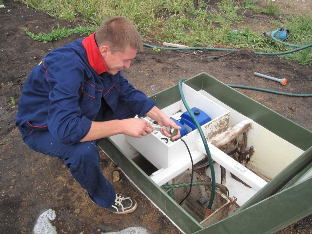 Обслуживание септика зимой: чистка и профилактические работы