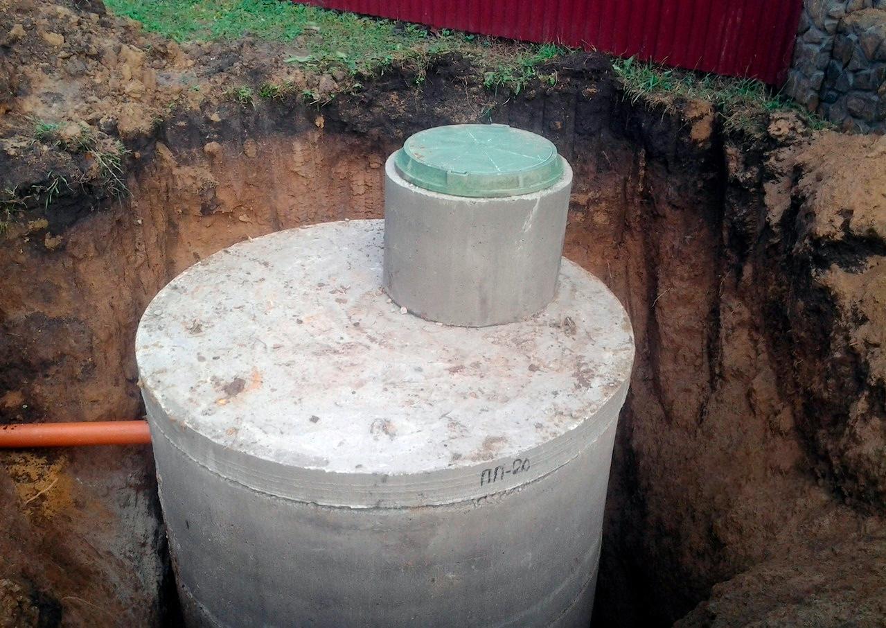 Как самостоятельно сделать кольца для выгребной ямы из бетона или пластика
