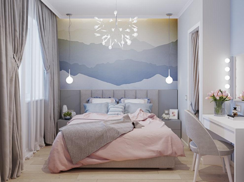 Обои для маленькой комнаты (73 фото): зрительно увеличивающие пространство модели, какие подойдут в узкую комнату, как правильно выбрать, 2020-идеи в интерьере