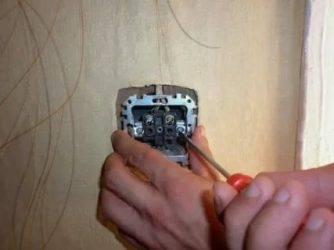 Как снять выключатель со стены, что для этого нужно