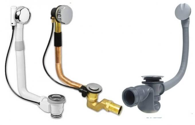 Обвязка для ванны полуавтомат и автомат - установка, замена и сборка