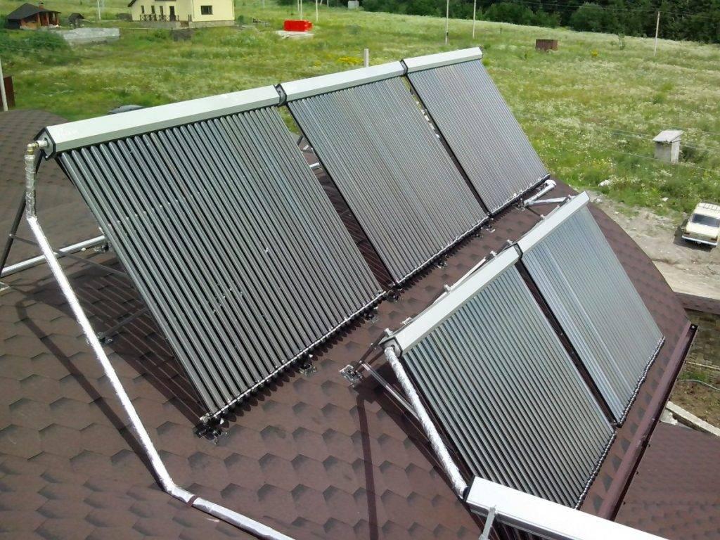 Обустраиваем солнечное отопление или как соорудить самодельный коллектор
