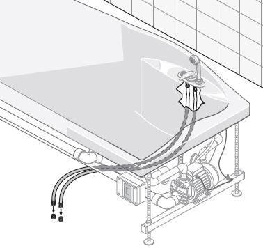 Как установить гидромассажную ванну?