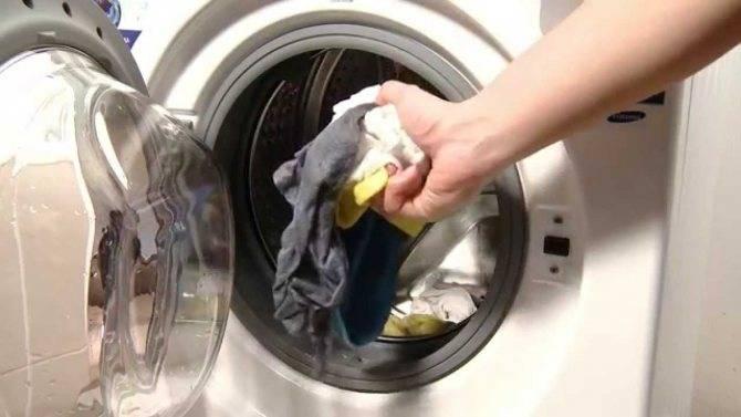 Как слить воду из стиральной машины lg?
