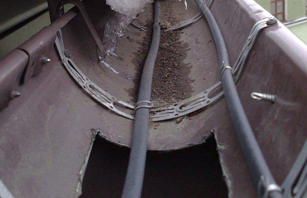 Обогрев водостоков своими руками. как организовать обогрев водостока. советы по формированию системы обогрева водостока в частном доме. узнайте.
