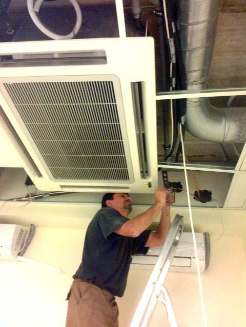 Кассетный кондиционер с монтажем на потолок и другими методами установки