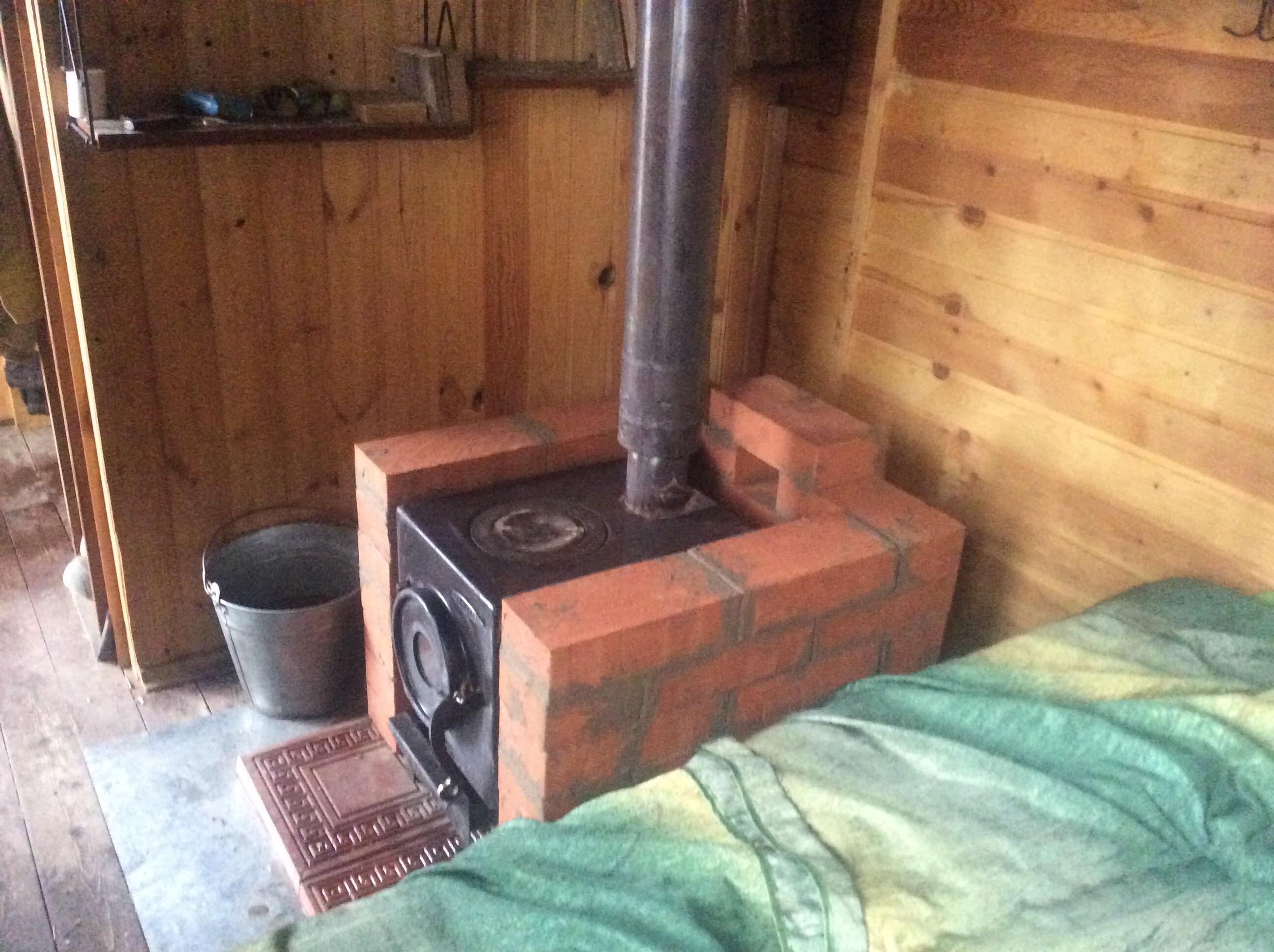 Как обложить металлическую печь кирпичом на даче - всё о кирпиче