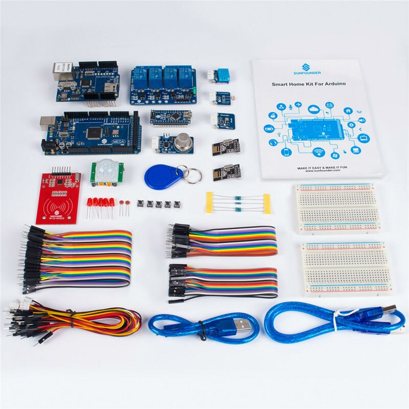 """Проектирование и организация собственного «умного дома"""" с помощью arduino"""