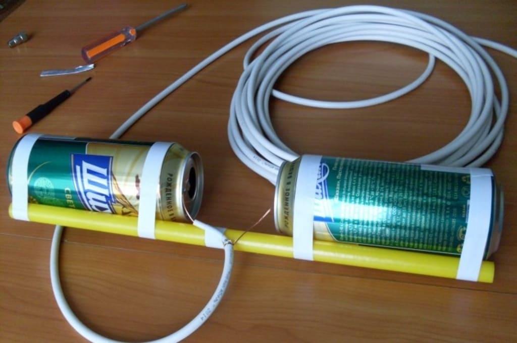 Как сделать антенну для цифрового тв dvb t2 своими руками для дальнего приема: из кабеля, медной проволоки и банок