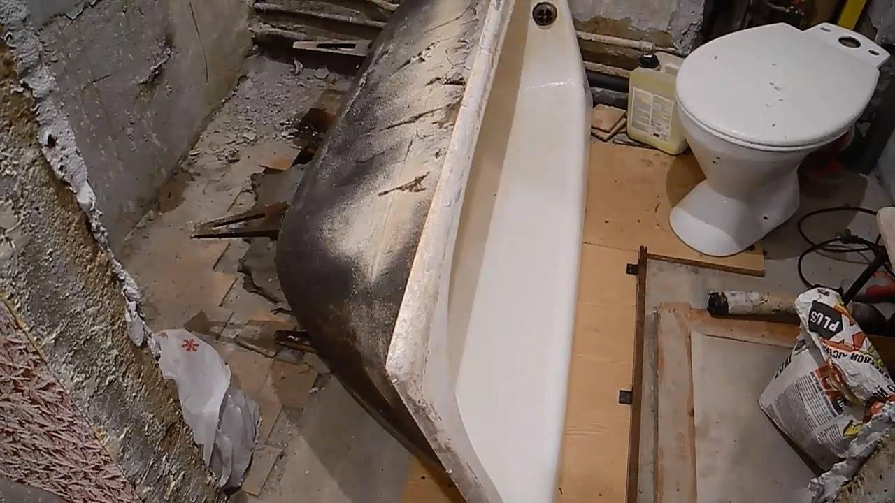 Выбираем ванну: чугун, сталь или акрил?