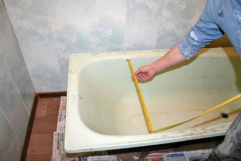 Как правильно выбрать и установить акриловый вкладыш в ванную