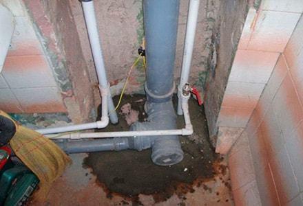 Как заменить стояк канализации как заменить стояк канализации