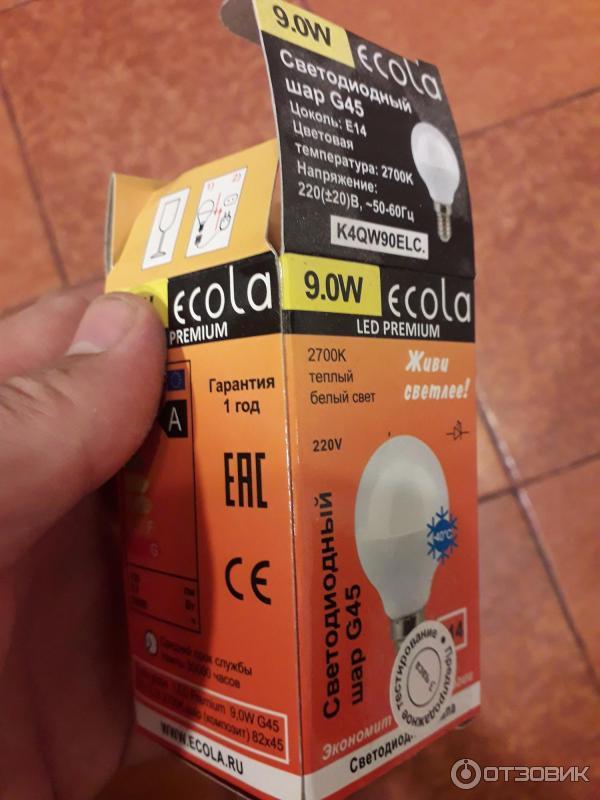 Светодиодные лампы ecola (33 фото): характеристика диммируемых led-светильников и диодных на прищепке, отзывы