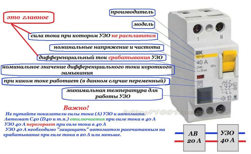 Устройство защитного отключения для водонагревателей