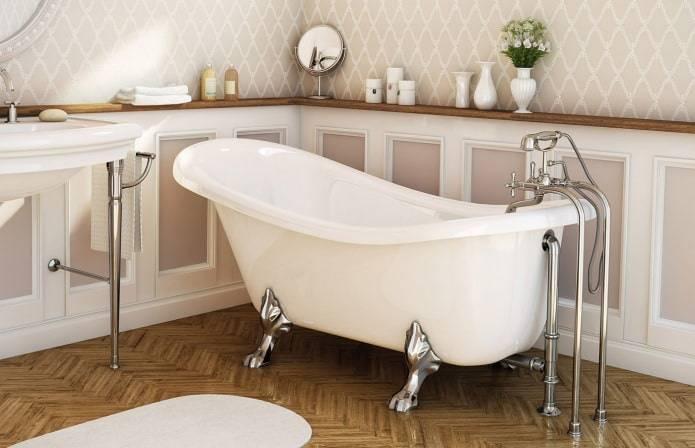 Какую ванну выбрать, формы и размер -фото примеров.