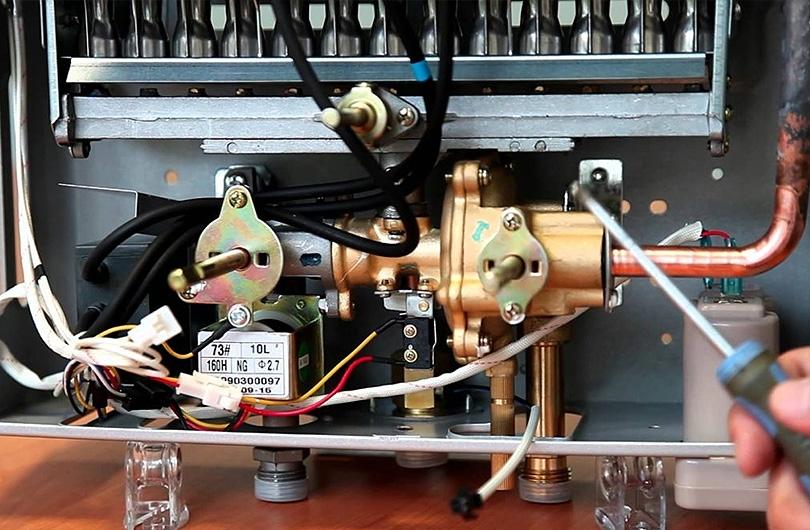 Газовая колонка vektor: неисправности и методы их устранения, что делать, если зажигается и тухнет через некоторое время