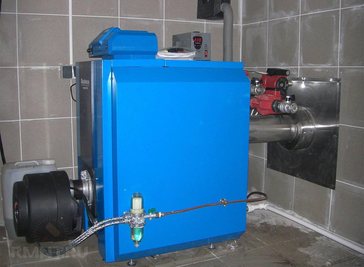 Дизельный котёл для отопления частного дома: расход топлива и цена на него