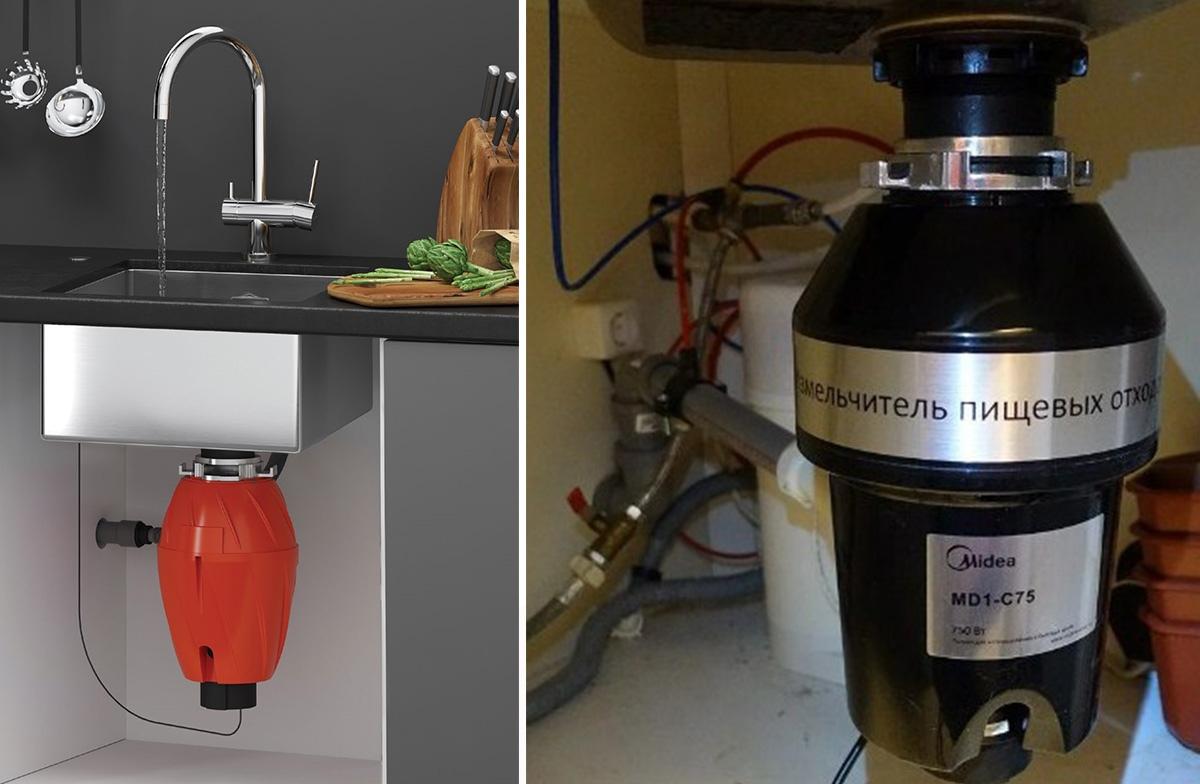 Обзор измельчителей пищевых отходов — диспоузеров