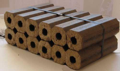 Прессованные опилки: альтернативное топливо для котлов