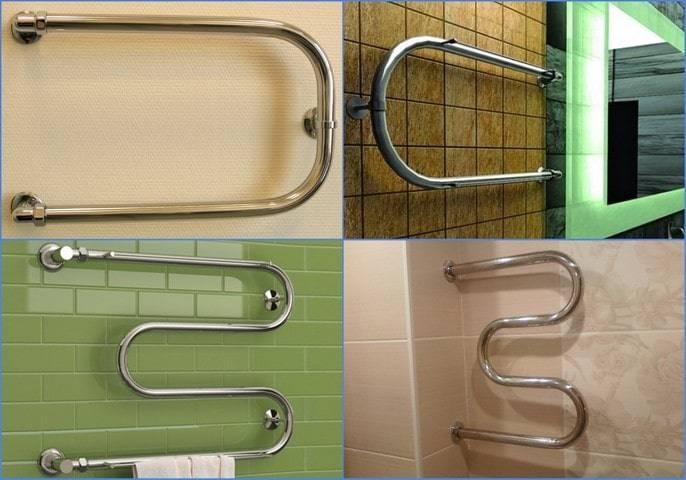 Как установить полотенцесушитель в ванной своими руками - bez-santehnika.ru
