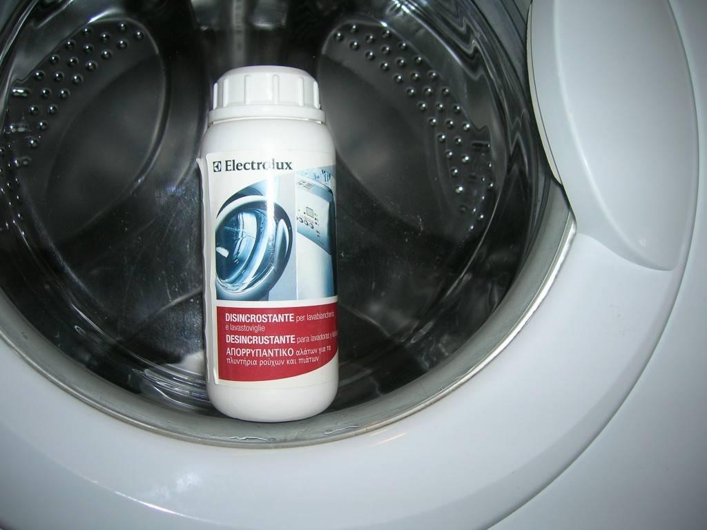 Как очистить стиральную машину от запаха и грязи в домашних условиях: способы