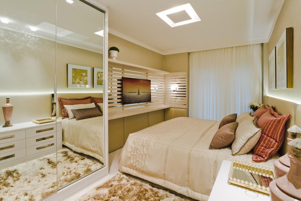 Как визуально увеличить комнату - обои, шторы, цвета, мебель