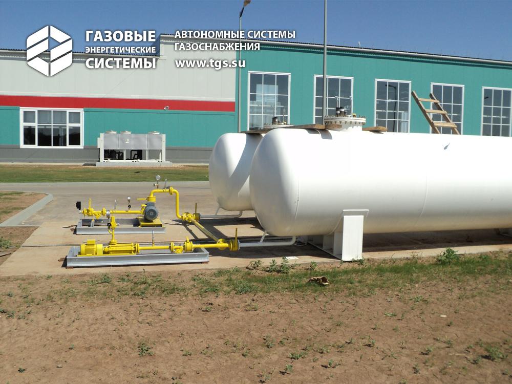 Проект подключения газа