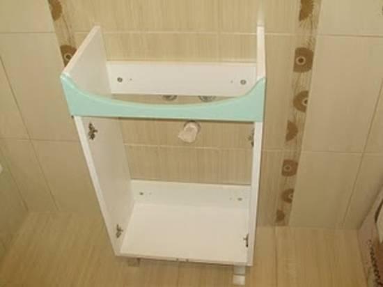 Тумба с раковиной для ванной: какую лучше выбрать + как правильно установить