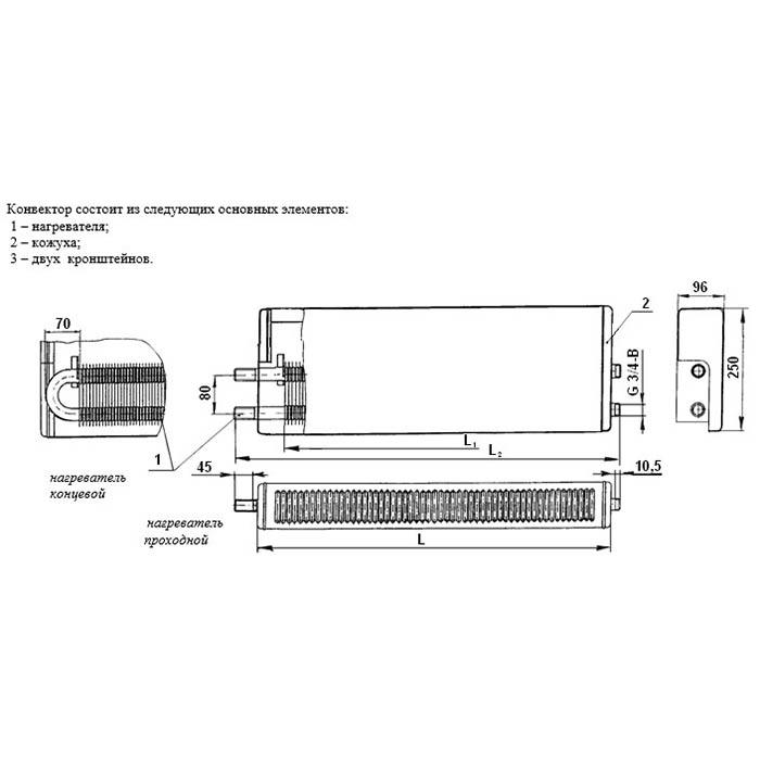 Конвектор кск-20 прайс-лист