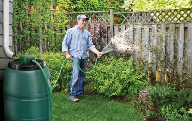 Использование водоема для полива огорода