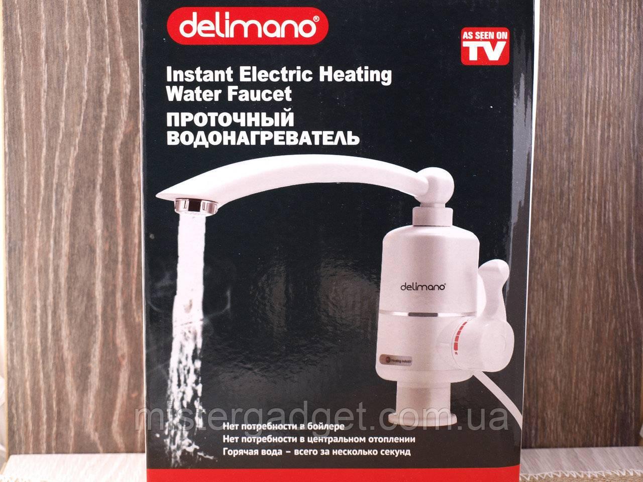 Delimano водонагреватель - характеристики и отзывы