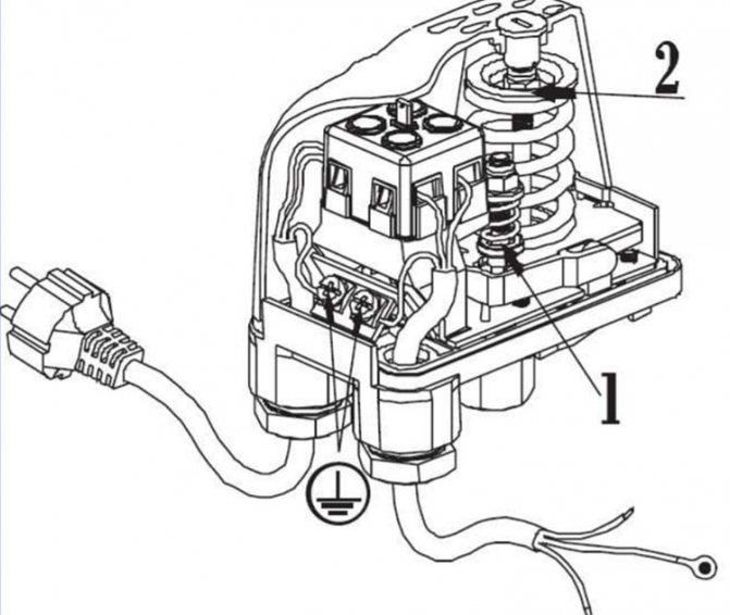 Реле давления для компрессора