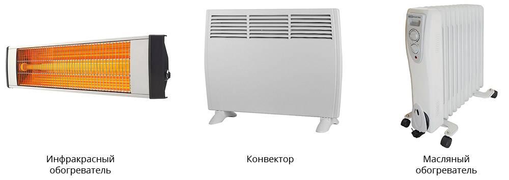 Инфракрасный обогреватель или конвектор — что лучше?