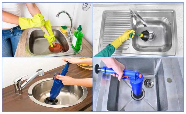 Как легко прочистить засор в раковине