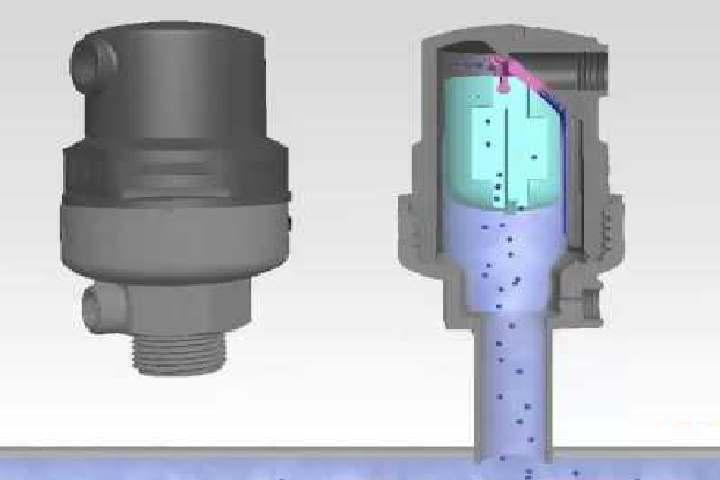 Воздушный клапан для канализации: устройство и принцип работы