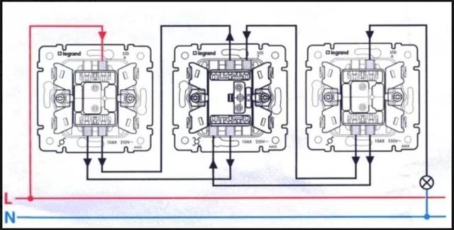 Как установить и подключить перекрестный выключатель света. обзор лучших моделей с инструкцией, фото и видео