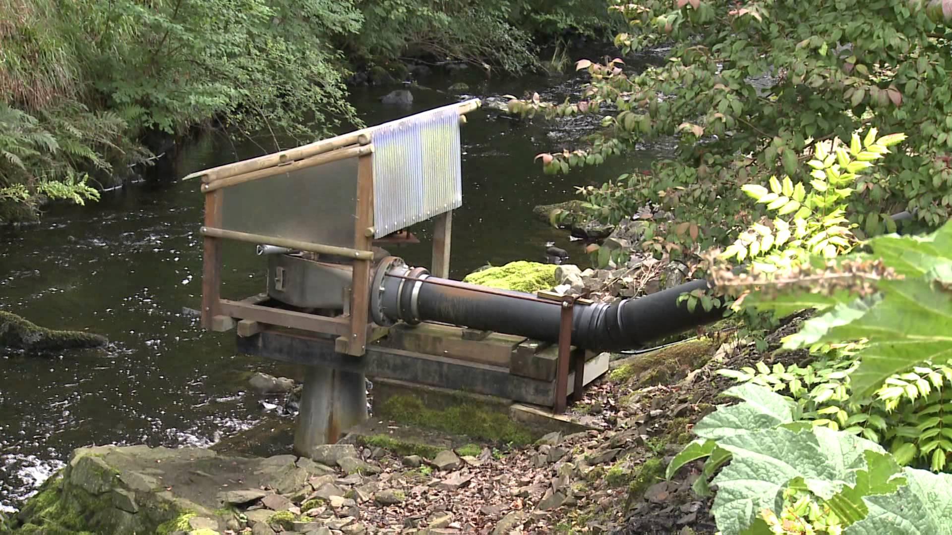 Гидроэлектростанция своими руками на приусадебном участке