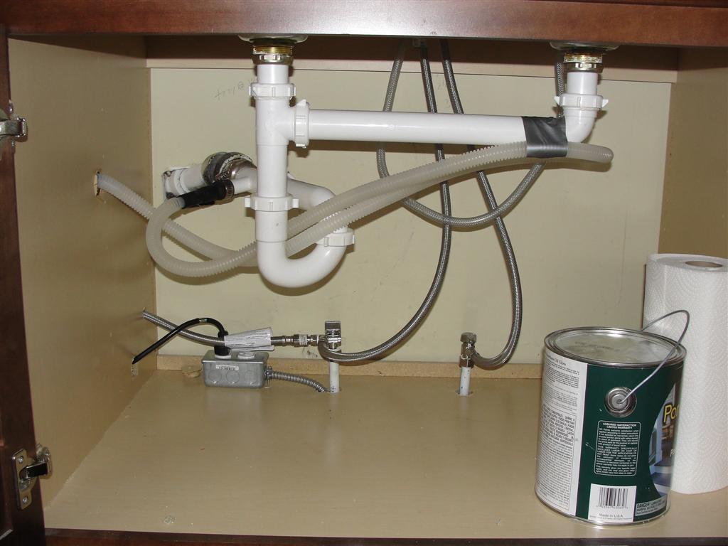 Как подключить посудомоечную машину к водопроводу и канализации своими руками