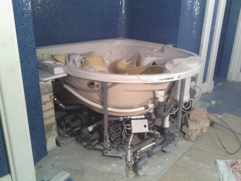 Ремонт джакузи: своими руками гидромассажные ванны, форсунки и насос как включить в ванной, обслуживание