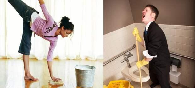 Почему нельзя мыть полы полотенцем: кто придумал этот запрет