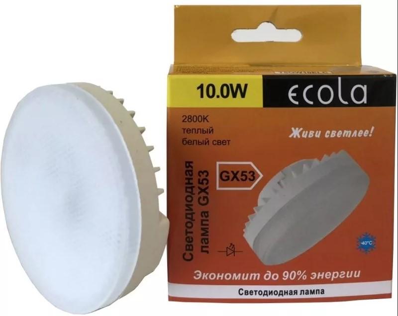 Ecola premium. безопасная светодиодная лампа для дома