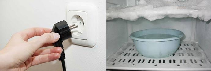 Когда нужно размораживать холодильник: с авторазморозкой и без неё