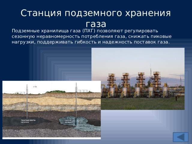Подземные хранилища газа: правила безопасности пхг