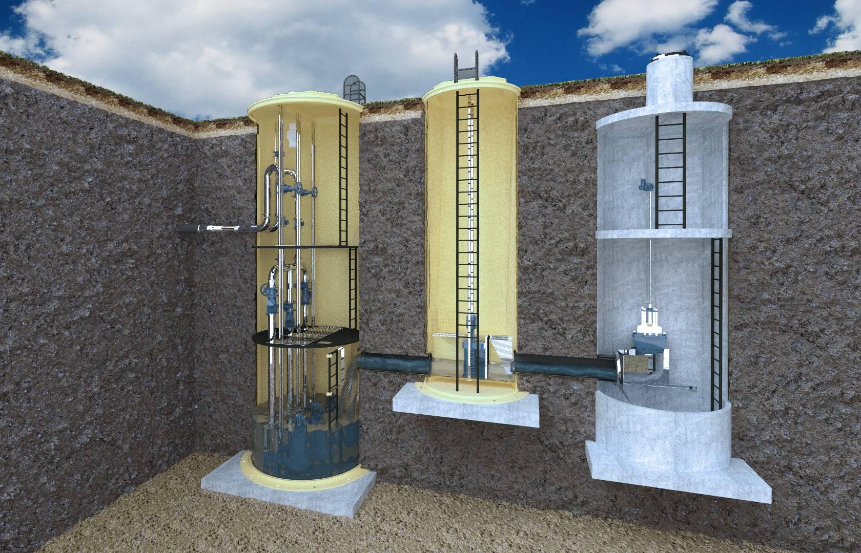 Особенности использования канализационных насосных станций