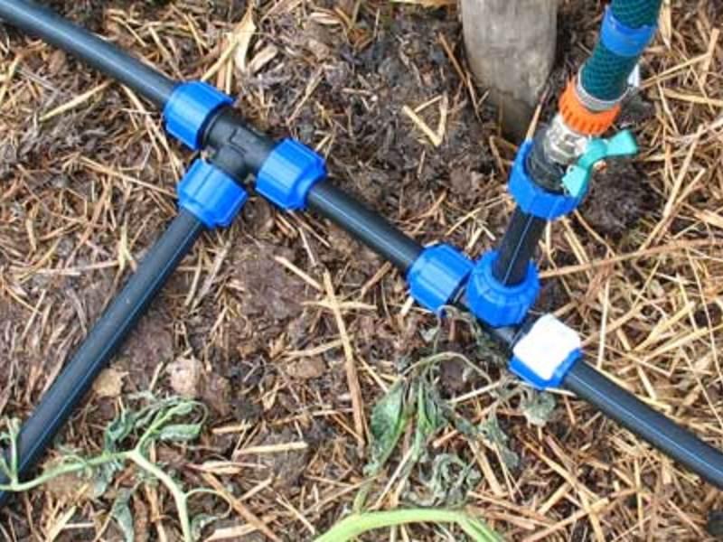 Капельный полив своими руками из полипропиленовых труб - узнайте, как сделать!