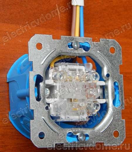 Проходной выключатель – как подключить и зачем применяется такой выключатель (70 фото)