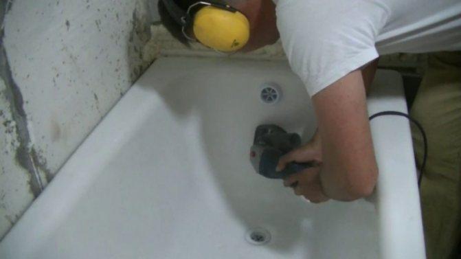 Реставрация ванны своими руками: эмалирование, наливная, вкладыш, фото, видео