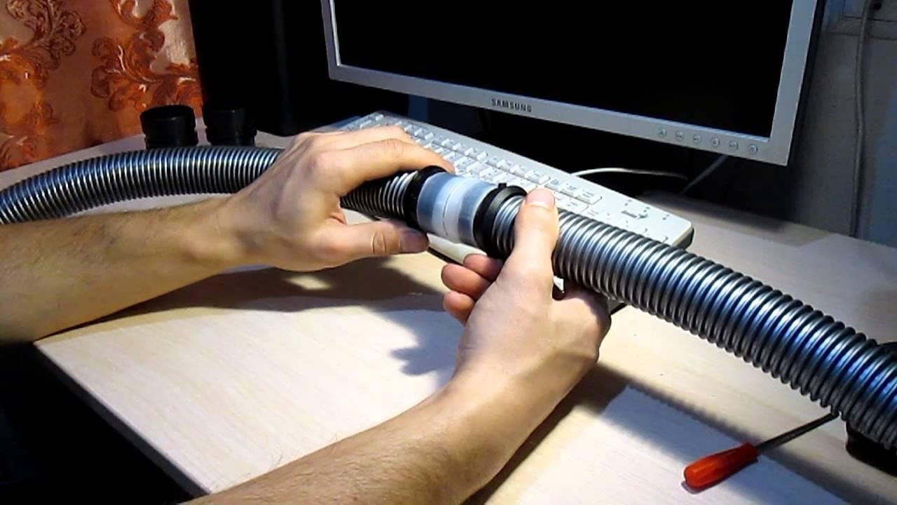 Как своими руками разобрать и починить шланг от пылесоса, пошаговая инструкция