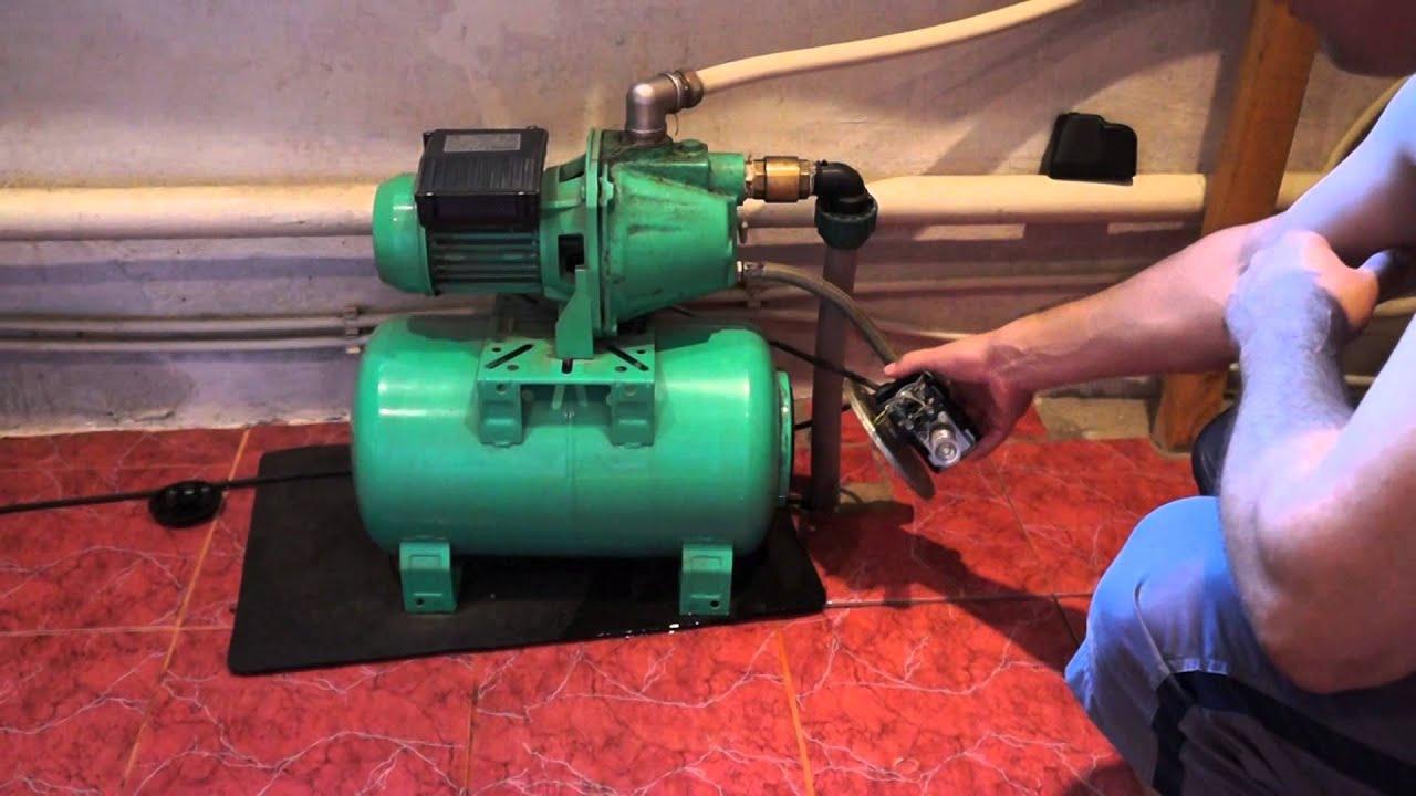 Ремонт реле давления насосной станции своими руками